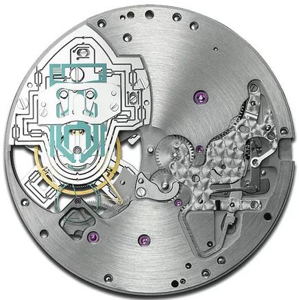 Hình trên là máy của một đồng hồ của Senfine.