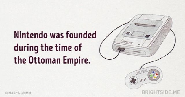 Nintendo đã được thành lập trong thời kỳ Đế quốc Ottoman