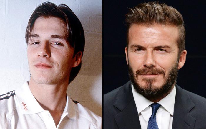 Cầu thủ David Beckham.