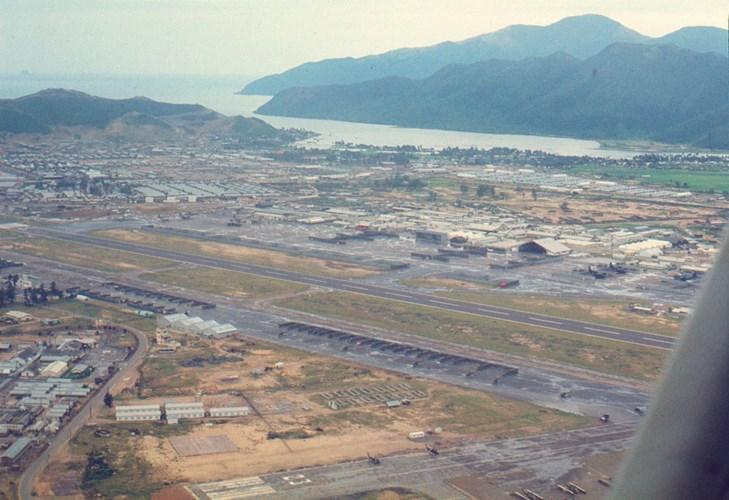 Căn cứ không quân ở Nha Trang.