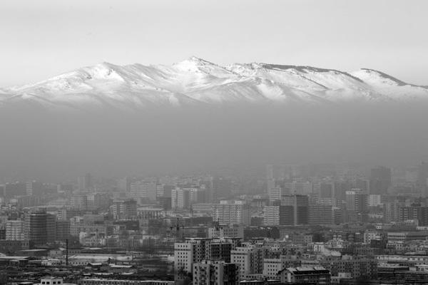 Ô nhiễm ở thủ đô Ulaanbaatar.