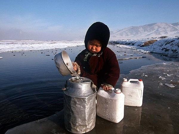 Nhiệt độ dưới mức đóng băng trong thời gian dài ở Mông Cổ vô tình khiến cho nơi đây bị ô nhiễm không khí do đốt nhiên liệu.