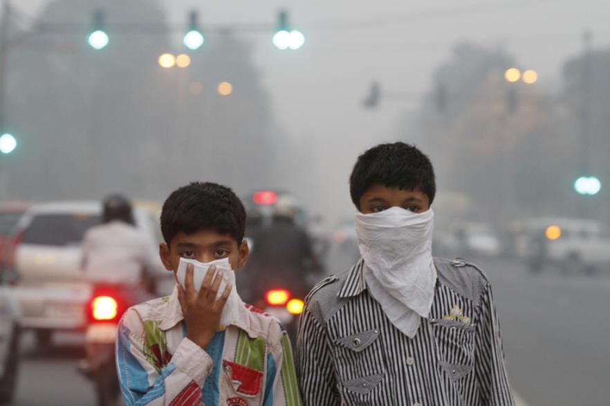 Mỗi năm có 3.000 người chết ở New Delhi vì ô nhiễm không khí.