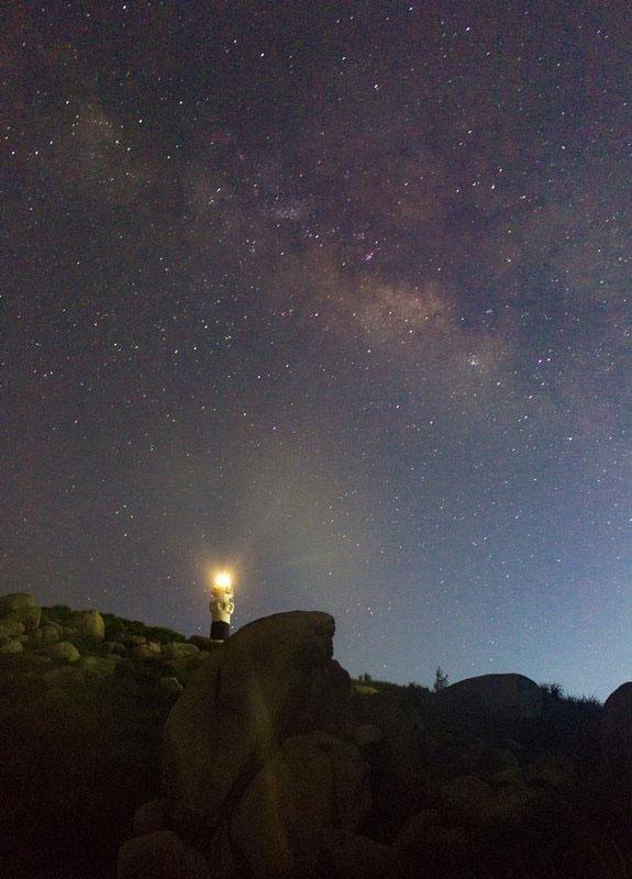 Milky Way ở Cù Lao Xanh.