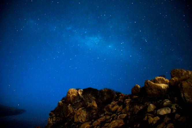 Milky Way ở Kê Gà.