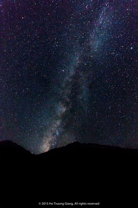 Milky Way ở Mộc Châu.