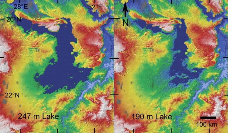 Các nhà nghiên cứu đã phát hiện ra một bên dưới sa mạc Sahara từng tồn tại một hồ nước rất lớn.