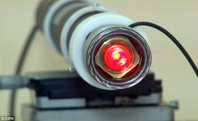 Tia laser giúp cây trồng ít bị bệnh hơn