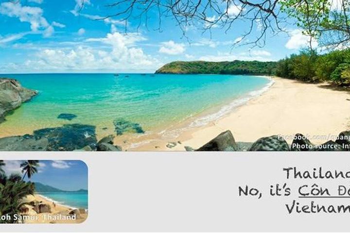 Đừng nhầm lẫn bãi biển trong vắt, xanh biếc này là ở Thái Lan, bởi nó chính là Côn Đảo, Việt Nam.