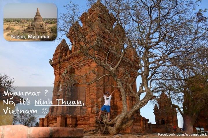 Myanmar? Không, đây là Ninh Thuận, Việt Nam!
