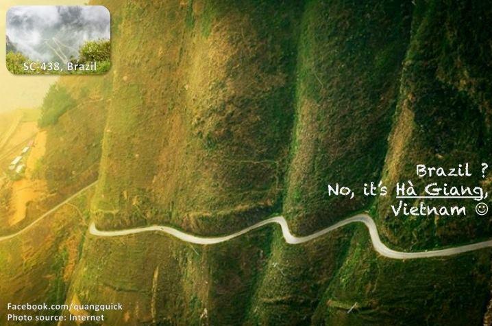 Brazil? Không! Cung đường tuyệt đẹp này là ở Hà Giang.