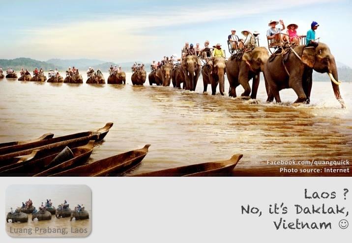 Không cần đến Lào, chỉ cần đến Daklak bạn cũng đã được thử cảm giác cưỡi voi.