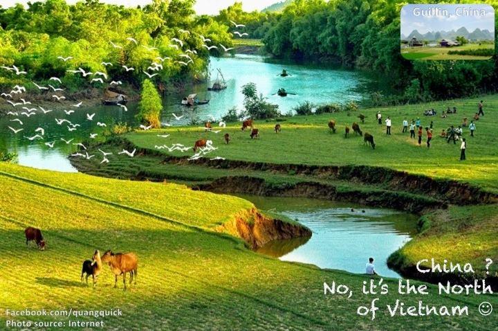 2Bạn có bất ngờ không khi biết phong cảnh hữu tình này là ở Nho Quan, Ninh Bình?