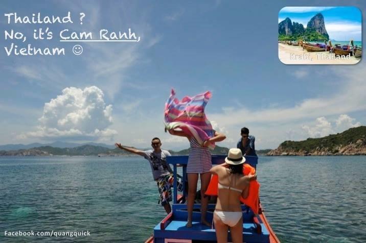 Cam Ranh của Việt Nam cũng hấp dẫn đâu kém Krabi của Thái Lan đâu!