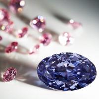 Viên kim cương màu tím lớn và hiếm nhất thế giới