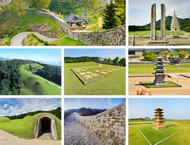 Khu di tích vương triều Baekje gồm các tường thành và mộ cổ triều đại Baekje