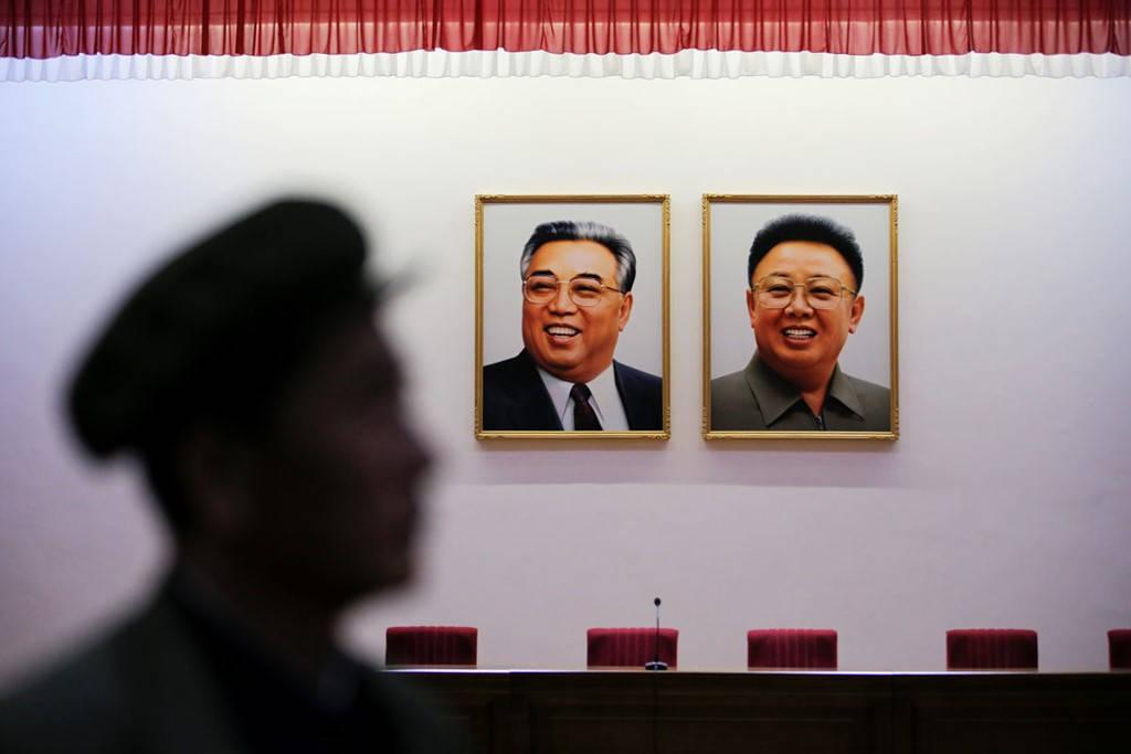 Hình ảnh nhà lãnh đạo của đất nước Triều Tiên được đăng tải rộng rãi.