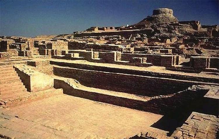 Những phế tích còn lại của Mohenjo – Daro nơi được xem là biểu trưng cho sự phát triển của nền văn minh Indus.