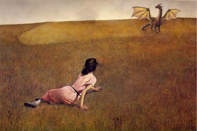 Kiệt tác Thế giới của Christina do danh họa Andrew Wyeth vẽ.