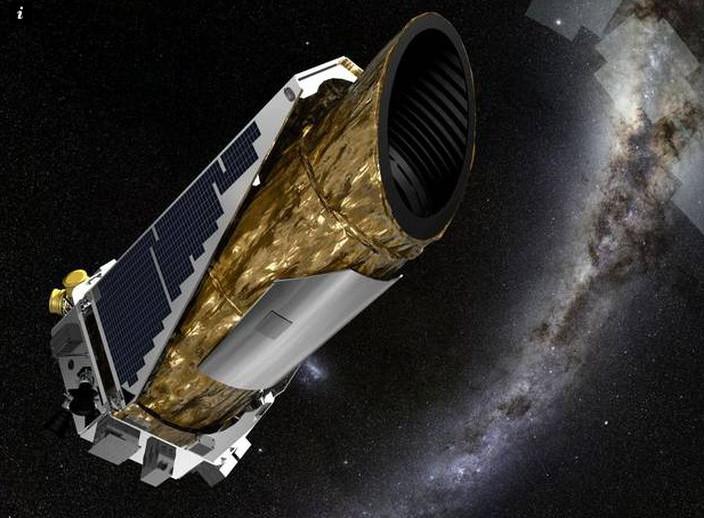 Kính thiên văn Kepler.