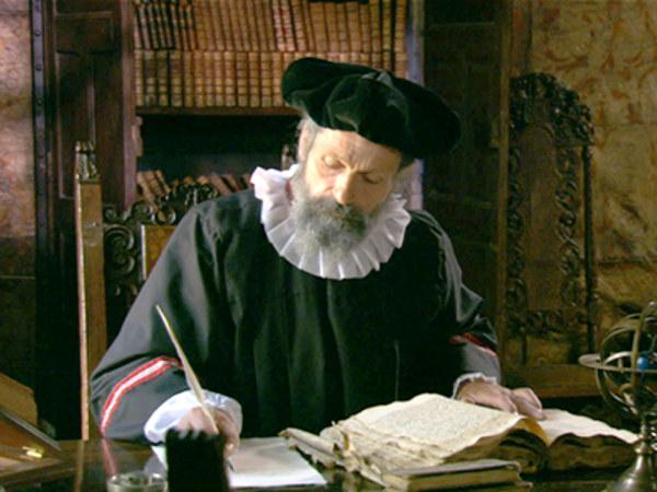 Nhà tiên tri Nostradamus.