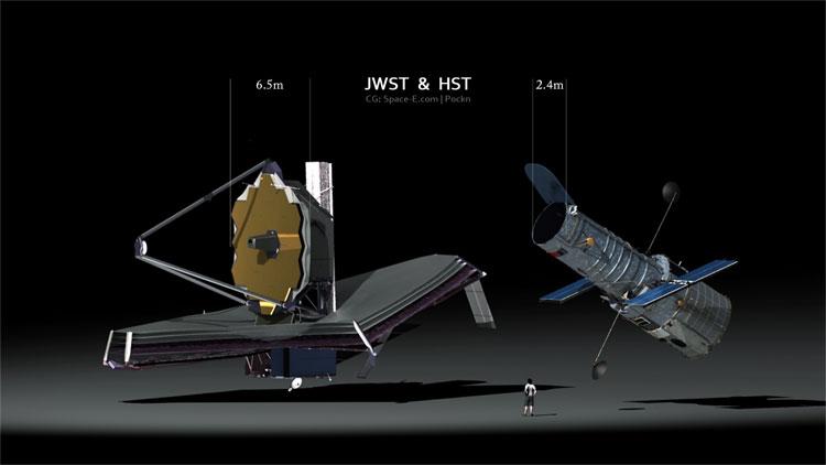 Mỗi mảnh gương của kính viễn vọng James Webb lớn bằng một chiếc bàn uống nước và nặng khoảng 20kg.