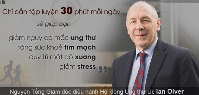 Giáo sư Ian Olver.