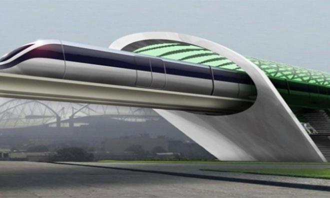 Bộ khung trượt sẽ được phát triển thành khung gầm chở khách của tàu siêu tốc, tăng tốc lên gần 650 km/h chỉ trong vài giây.