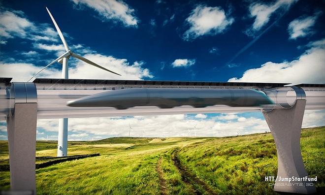 """""""Chúng tôi đã tiến gần thêm một bước đến mục tiêu biến Hyperloop thành hiện thực. Chúng tôi sẽ vận chuyển hàng hóa vào năm 2019 và chở hành khách an toàn năm 2021"""", Rob Lloyd, Giám đốc điều hành Hyperloop One, chia sẻ."""