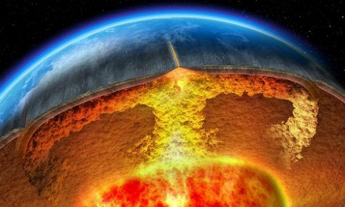 5 lớp Trái đất xét theo tính chất hóa học
