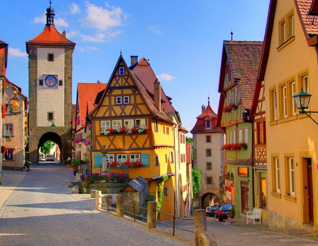 Làng Rothenburg, Đức