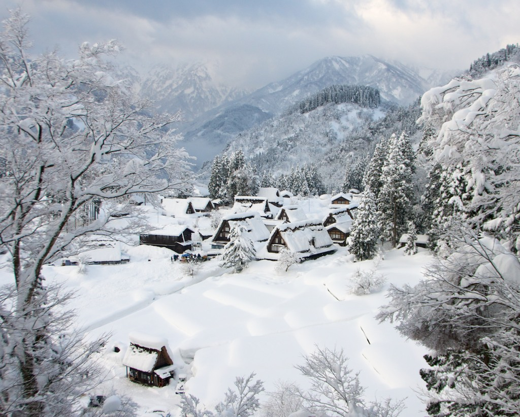 Làng Gokayama, Nhật Bản