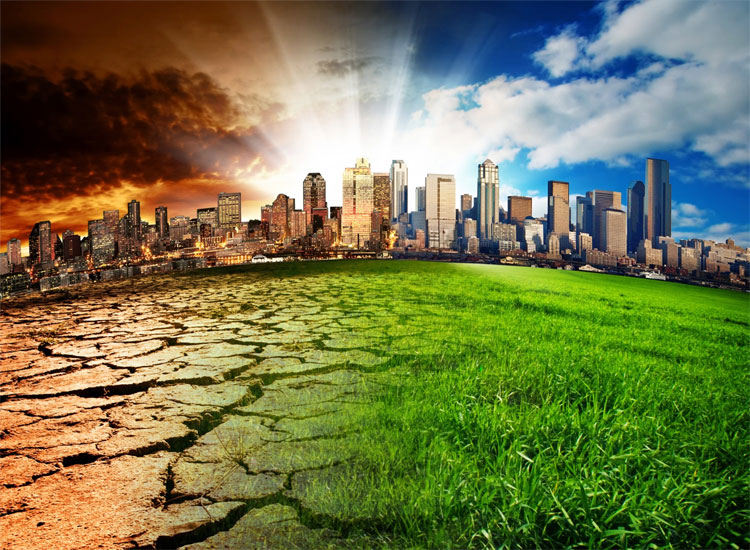 Khí hậu Trái Đất đang thay đổi, một phần là do tác động của con người.