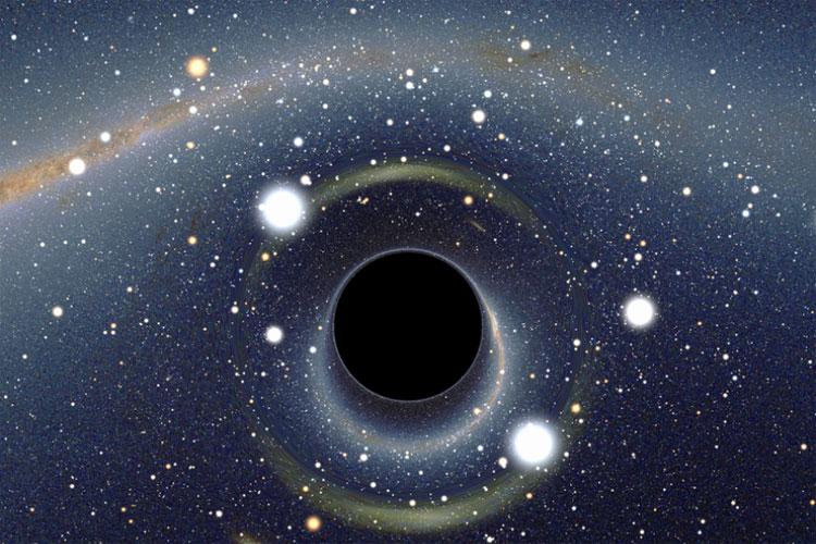 Nếu hố đen ở gần Mặt Trời, nó sẽ phá vỡ quỹ đạo của các hành tinh.