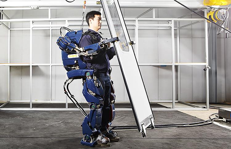 Bộ giáp robot mới với khả năng vô cùng đặc biệt.