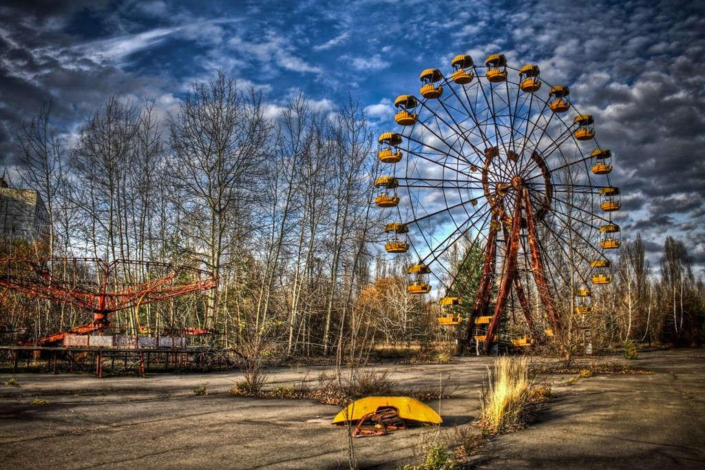 Công viên Pripyat, Pripyat, Ukraine