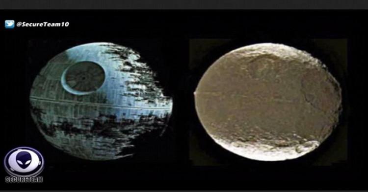 """Mô phỏng hình dáng thực của hành tinh nghi là """"căn cứ điểm"""" của người ngoài hành tinh."""
