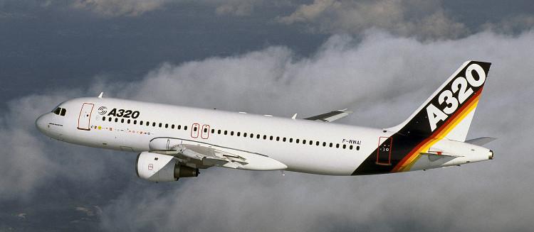 Một chiếc máy bay Airbus A320 có giá là 107 triệu USD.