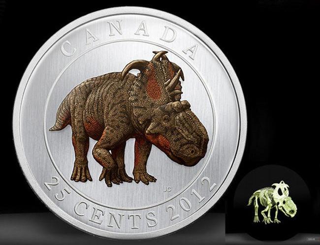 Tiền xu phát sáng của Canada