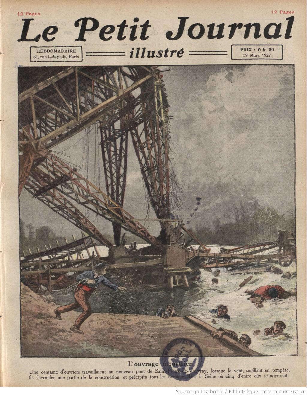 Hàng trăm công nhân đang làm việc tại công trường xây dựng cầu ở Pháp lâm vào tình thế vô cùng nguy hiểm khi giàn giáo tại 1 nhịp cầu bị sập. Đã có ít nhất 5 công nhân bị rơi xuống dòng sông Seine nổi tiếng.