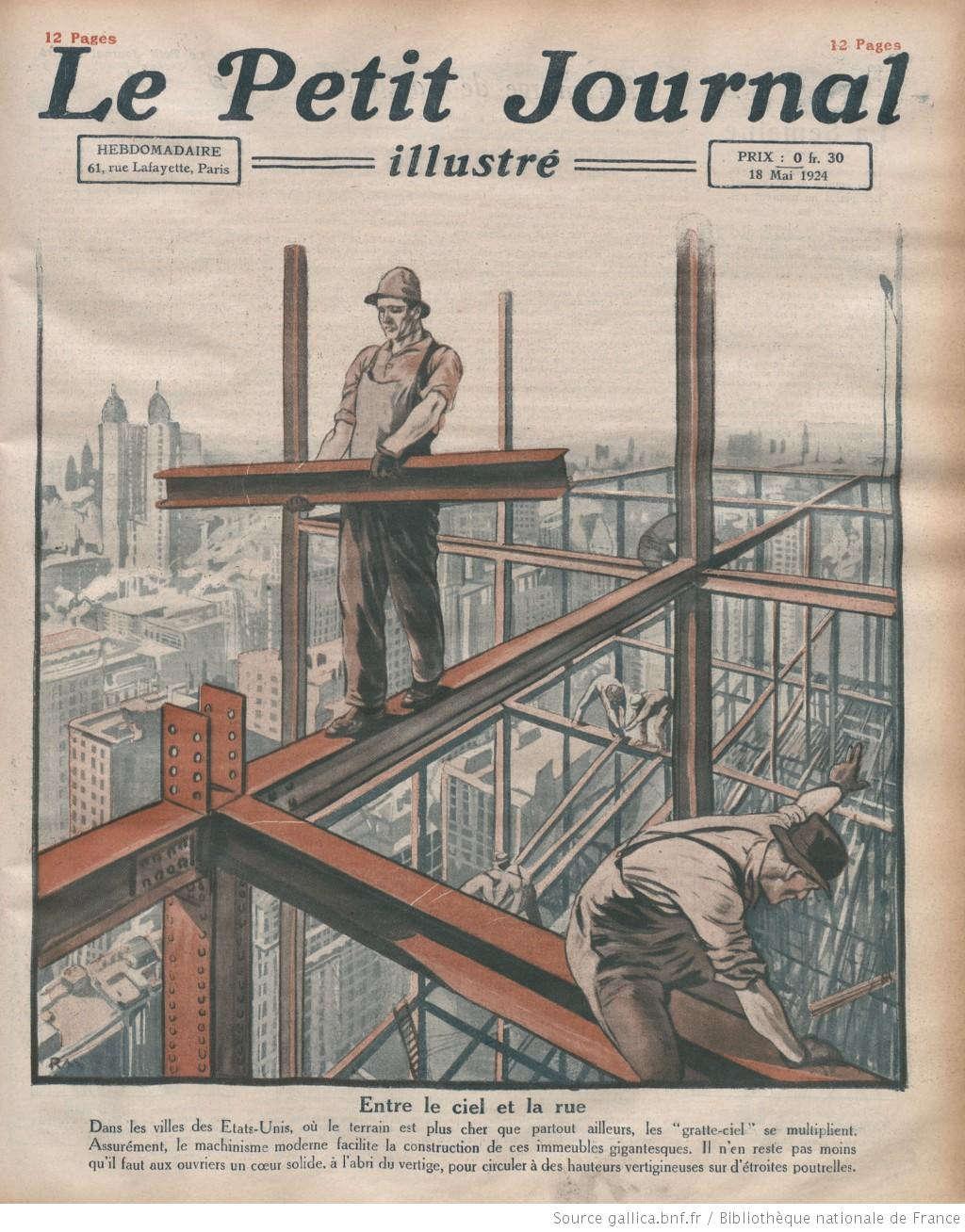 Đất chật người đông - nên những tòa nhà chọc trời sẽ là lựa chọn tối ưu cho người Mỹ và cả cư dân nước Pháp.