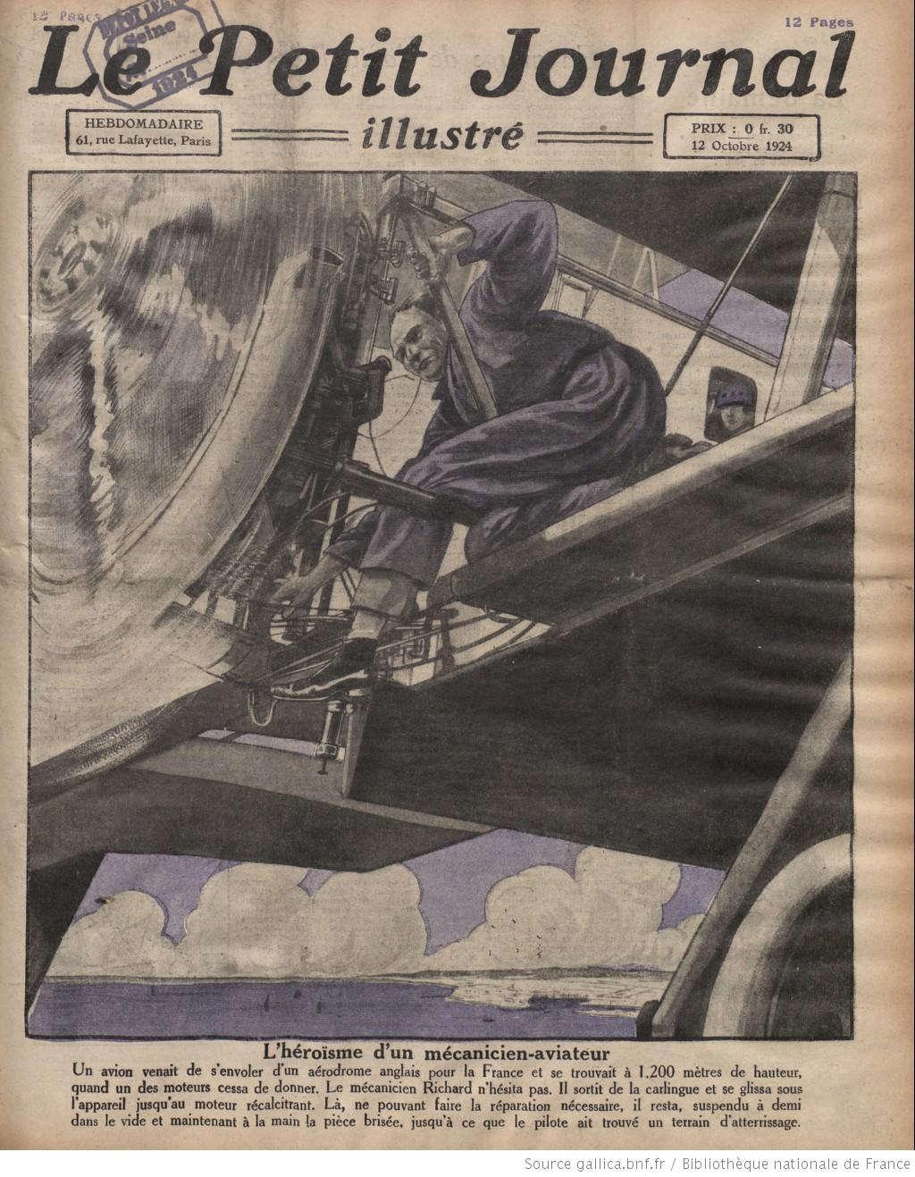 """Người xưa có vẻ hơi """"ảo tưởng"""" khi cho rằng, trong tương lai nếu máy bay gặp sự cố và một phi công - kiêm kỹ sư có thể dùng tay không giúp máy bay hạ cánh an toàn."""