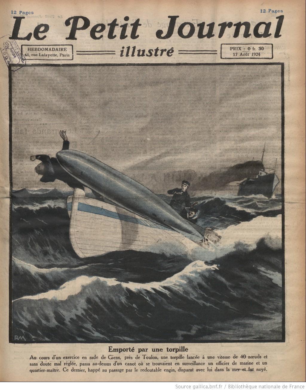 Các họa sĩ xưa dự đoán, nếu không nghiên cứu kĩ càng, ngư lôi sẽ là thảm họa trong quân đội thời tương lai.