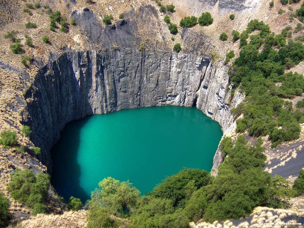 Mỏ kim cương Kimberly - Nam Phi