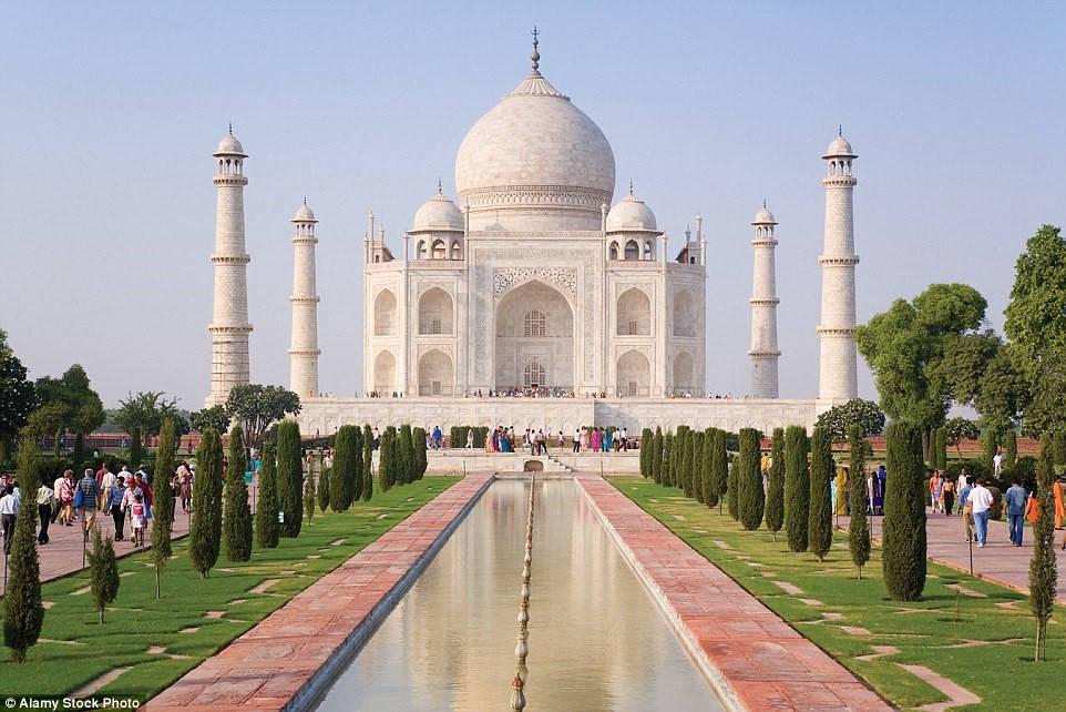 Lăng Taj Mahal, Agra, Ấn Độ