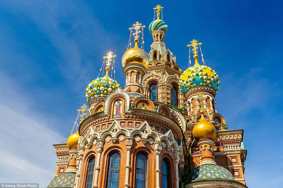 Nhà thờ Savior on Blood, St. Petersburg, Nga