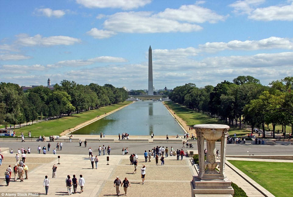 Hồ tưởng niệm Lincoln, Washington, Mỹ