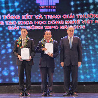 Dây chuyền đóng hộp tự động giành giải khoa học công nghệ Việt Nam