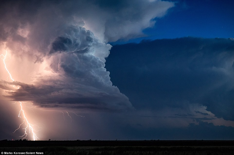 Một số cơn bão mà Marko chụp lại được thuộc loại bão siêu mạnh, cực kỳ nguy hiểm và có sức tàn phá không thể tưởng tượng nổi.