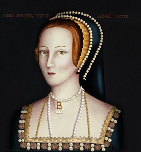 Hồn ma của Anne Boleyn.